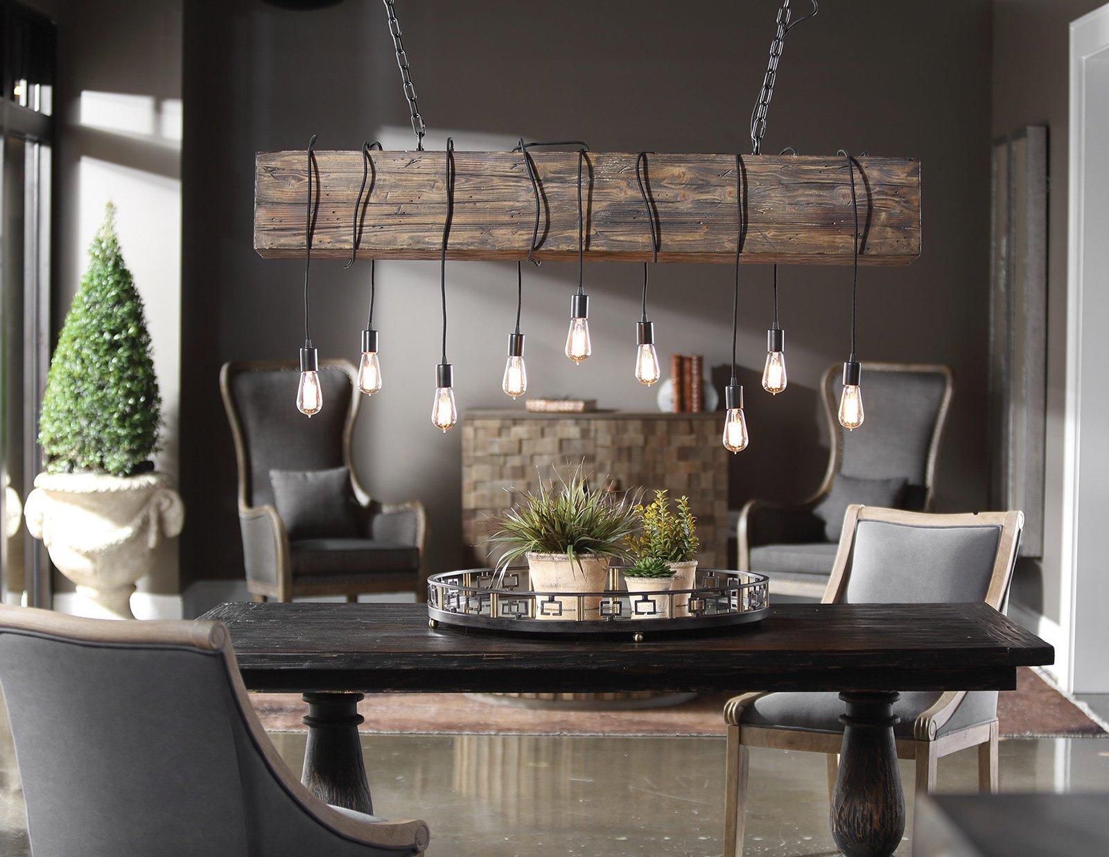 kitchen lighting at Ennis Fine Furniture